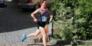 Anna Wartewig im Sprint-OL in Annaberg-Buchholz