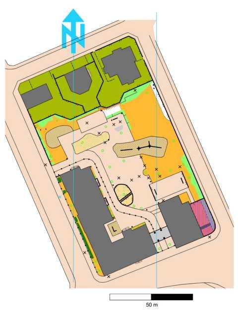 Orientierungslaufkarte 54. Grundschule Leipzig