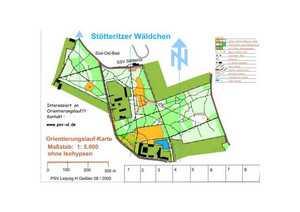 Orientierungslaufkarte Stötteritzer Wäldchen
